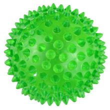 Spiky flashing ball. You can purchase them anywhere. This particular one is from Michael's Craft store. $2