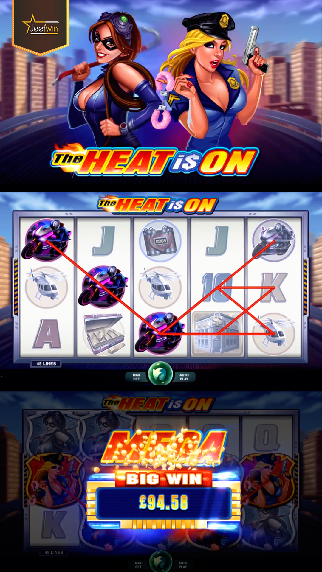 The Heat is On. Play the thrilling and hot Slot game Play