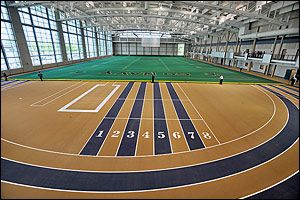 Wesley A Brown Field House Home Of Navy Volleyball And Indoor Track And Field Indoor Track Go Navy Track And Field