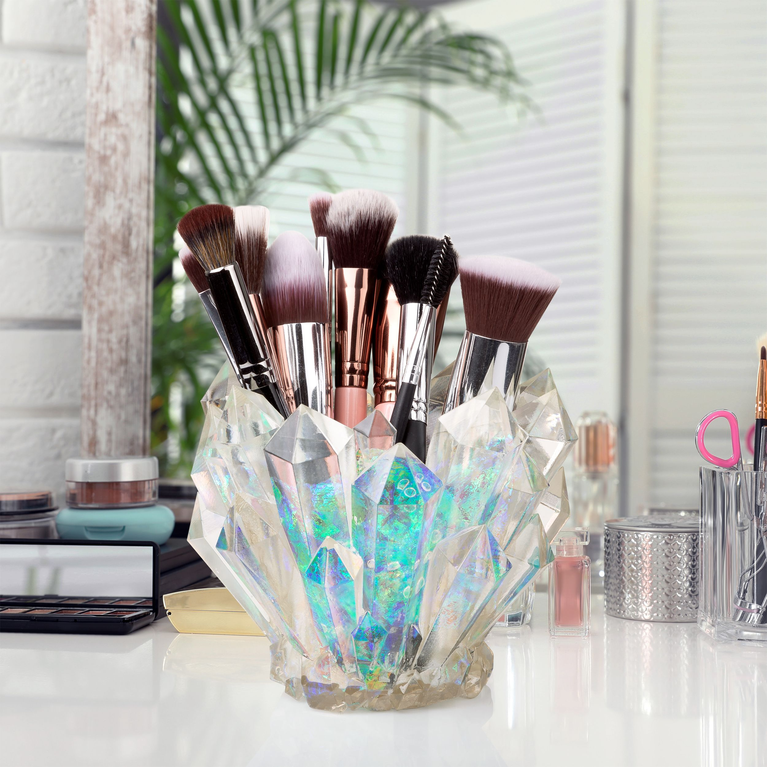 Pin on Wicked Vanity Beauty makeup brush holder