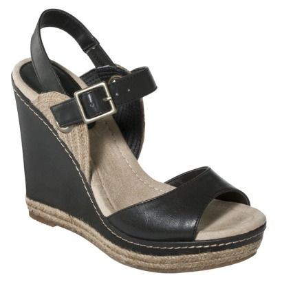 635c1b51d2a Target Womens Mossimo Supply Co. Wenda Espadrille Wedge Sandal  29.99- Why  don t you come in white or nude
