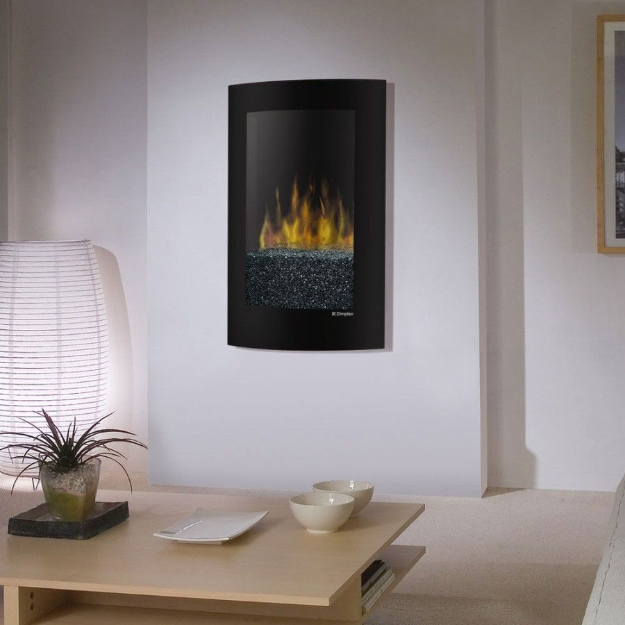 Dimplex convex recessedwall mount electric fireplace vcx