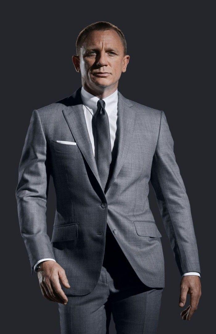 Les 25 meilleures id es de la cat gorie costume gris homme sur pinterest costumes gris - Costume noir chemise noir ...