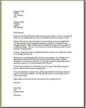 Bid Proposal Letter Pleasing Now That You Have Started Advertising Hopefully Those Calls Are .