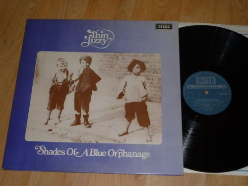THIN LIZZY - Shades of a Blue Orphanage - UK VINYL LP - DECCA TXS 108 - GATEFOLD