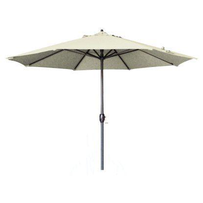 California Umbrella 9 Ft Aluminum Auto Tilt Olefin Patio Umbrellas At Hayneedle