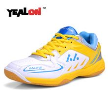 LEFUSI Womens Sneakers Indoor Sports Shoes Suitable For Badminton  Volleyball and Tennis yellow and white -- Find out more about the great  product at the ... 11821718af