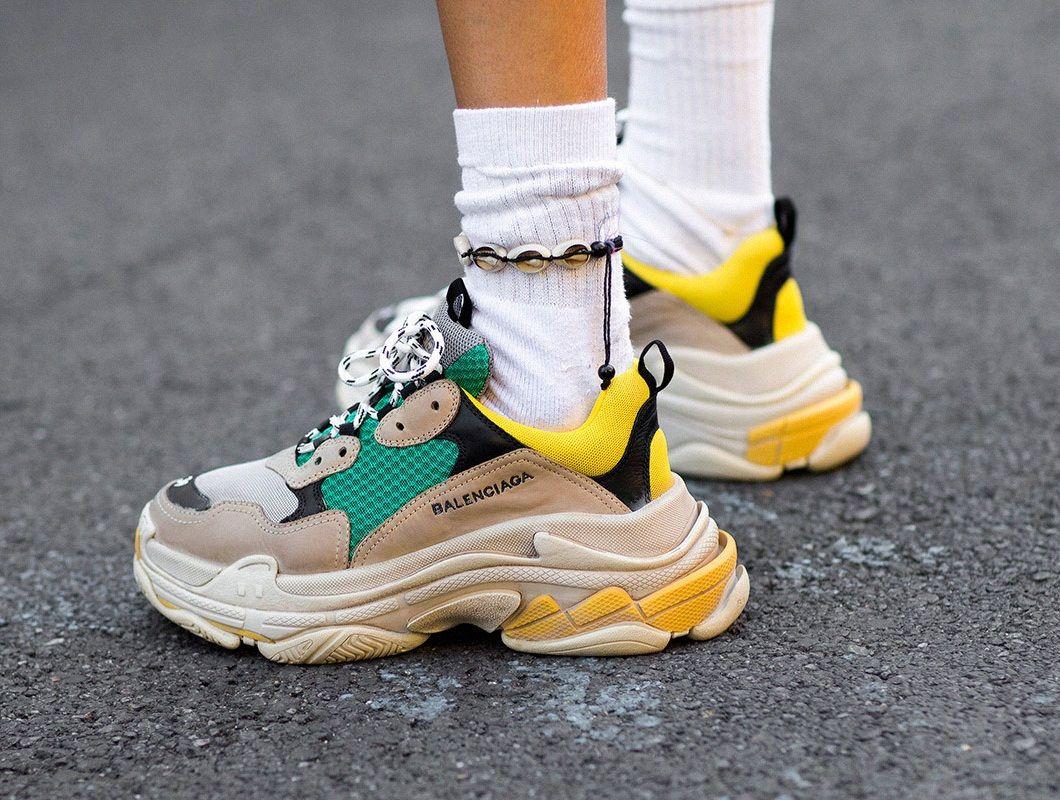 Modeflater WK12: Balenciaga Triple S Sneaker