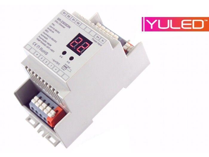 SR-2303DIN LED Controller 4-Kanal DALI Hutschiene → EVEREN™ LED and ...