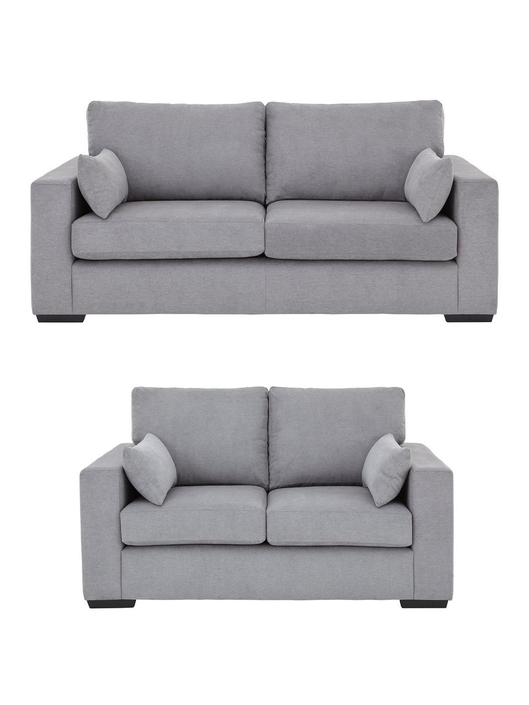 Zanzio 3 Seater 2 Fabric Sofa Set And Save