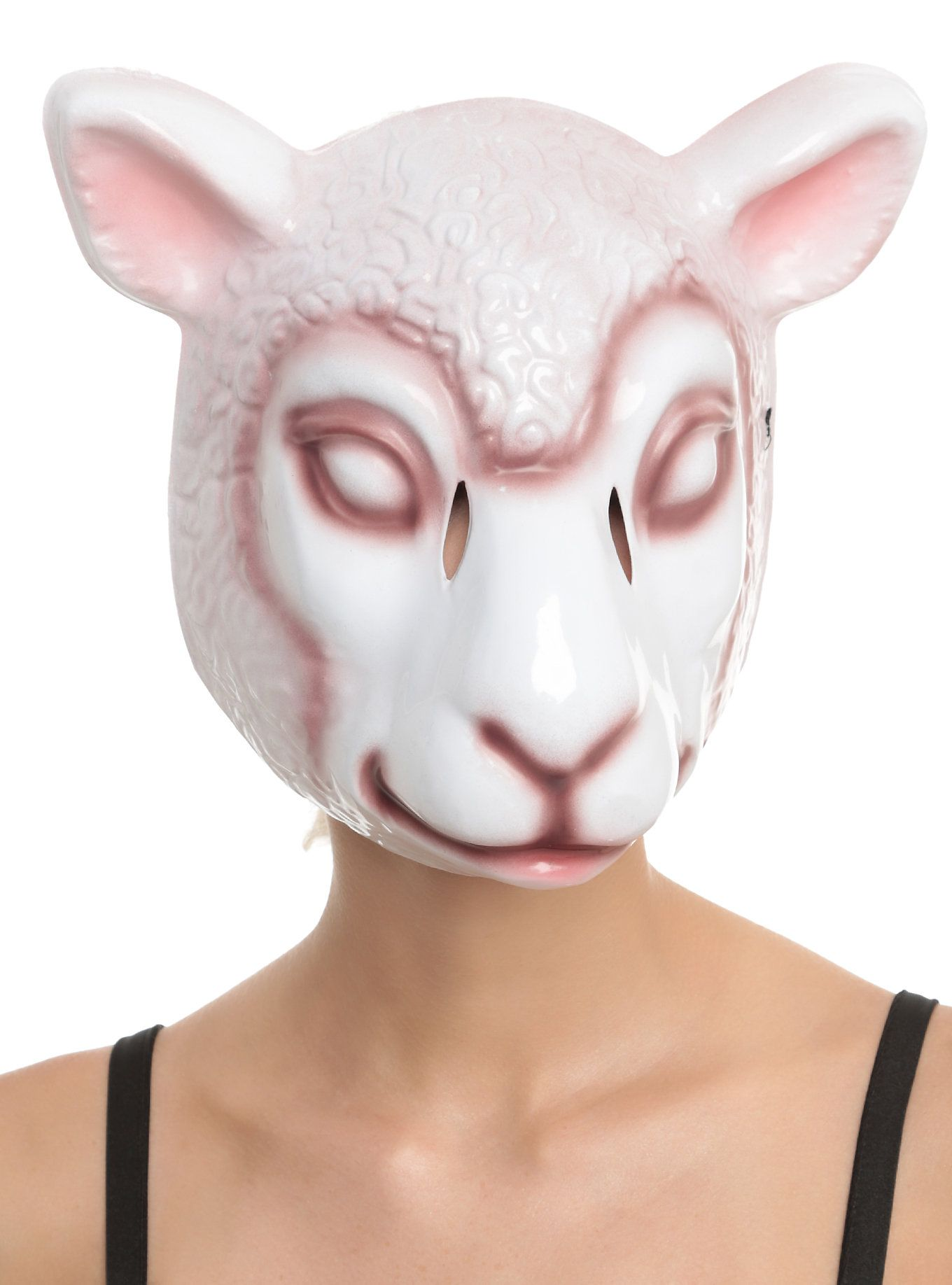 same cast as Orphan Black MK/Mikka sheep mask, but with different ...