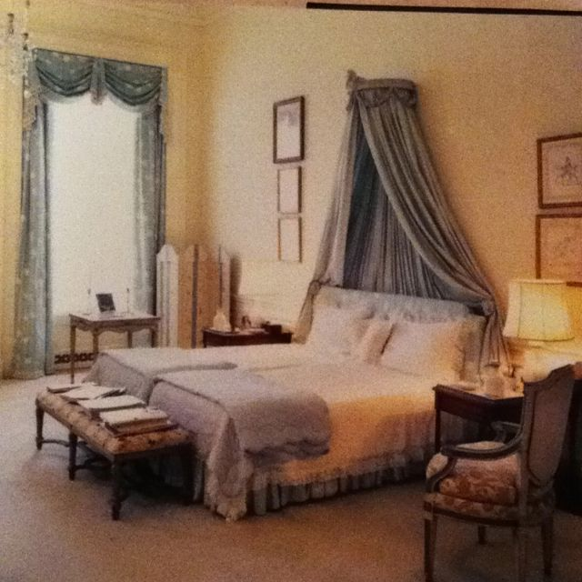 Jackie's Bedroom At The White House By Sister.