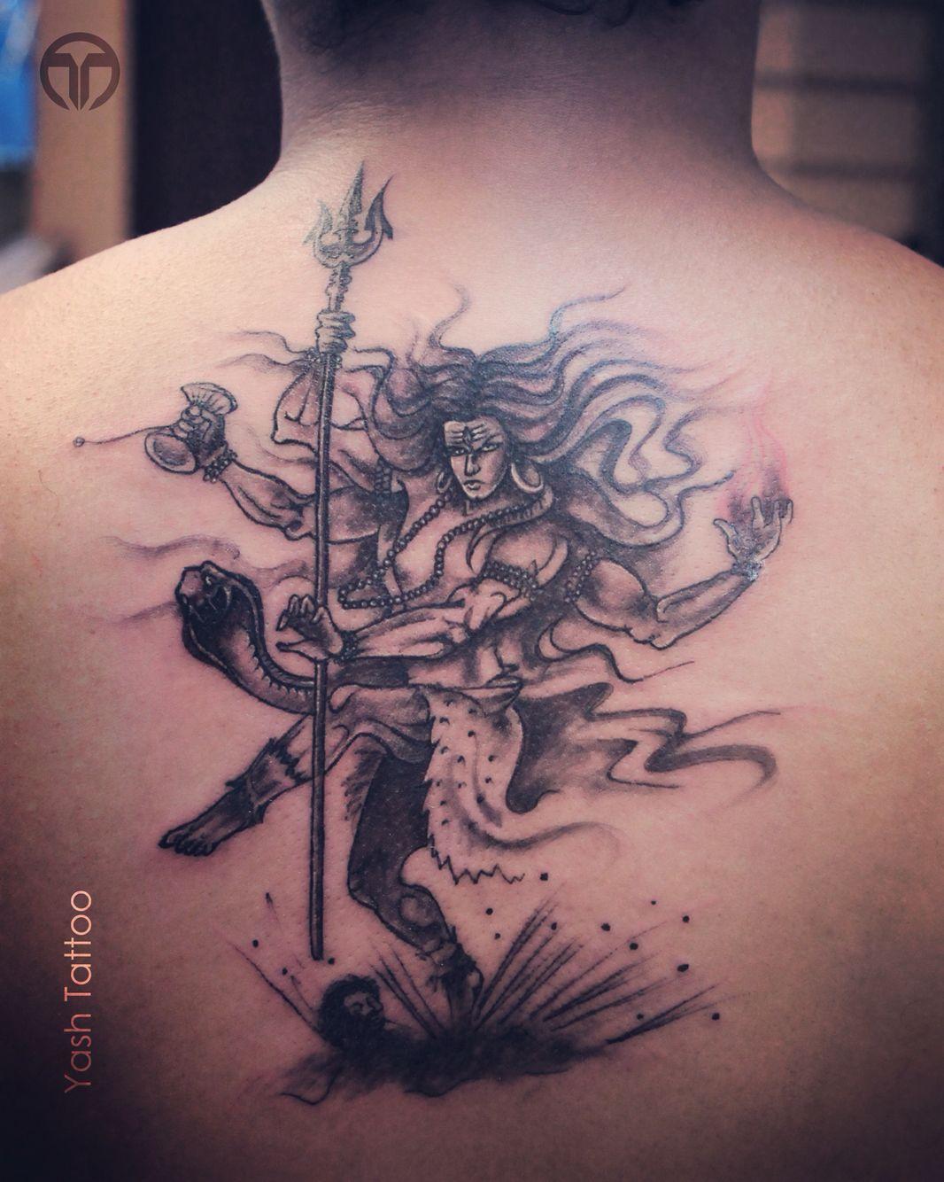 Shiva thandava … | Shiva tattoo design, Shiva tattoo ...