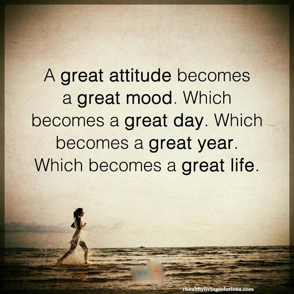 attitude … | Thinking quotes, Great inspirational quotes ...