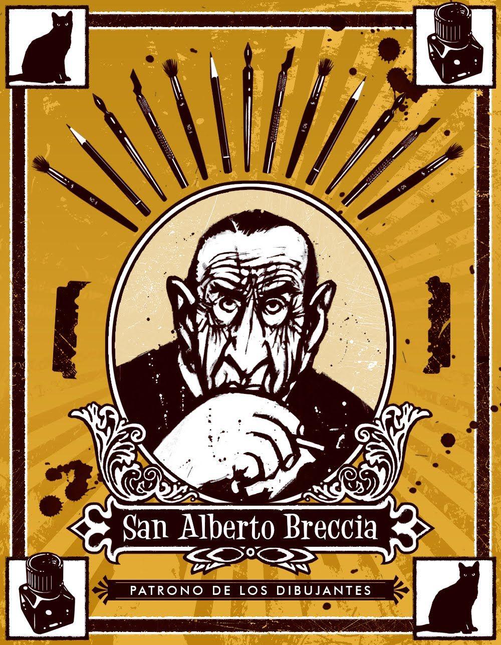 Dia Del Dibujante Dia De San Breccia Illustration Design Illustration Comics