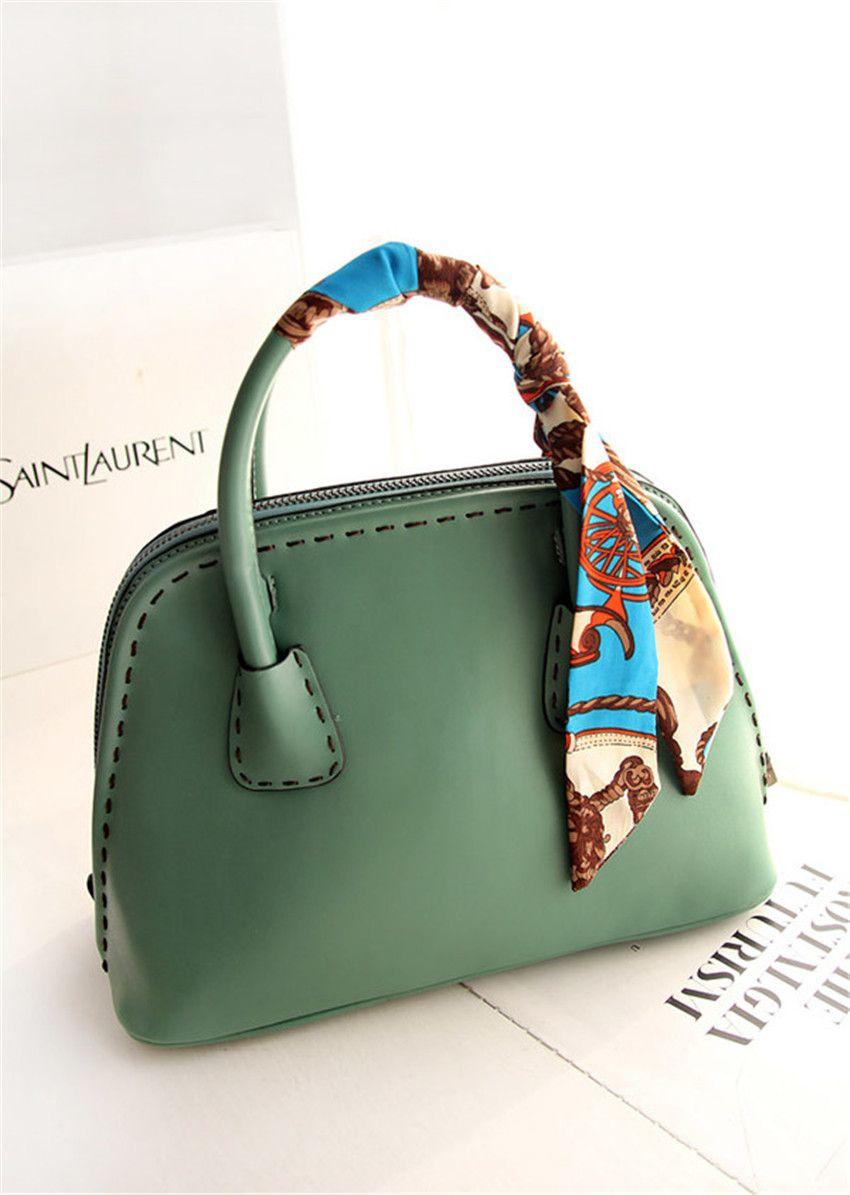 2pcs Silk T Mini Ribbon Scarf Bag Handbag Handle Decor Wrap Choker Head Band