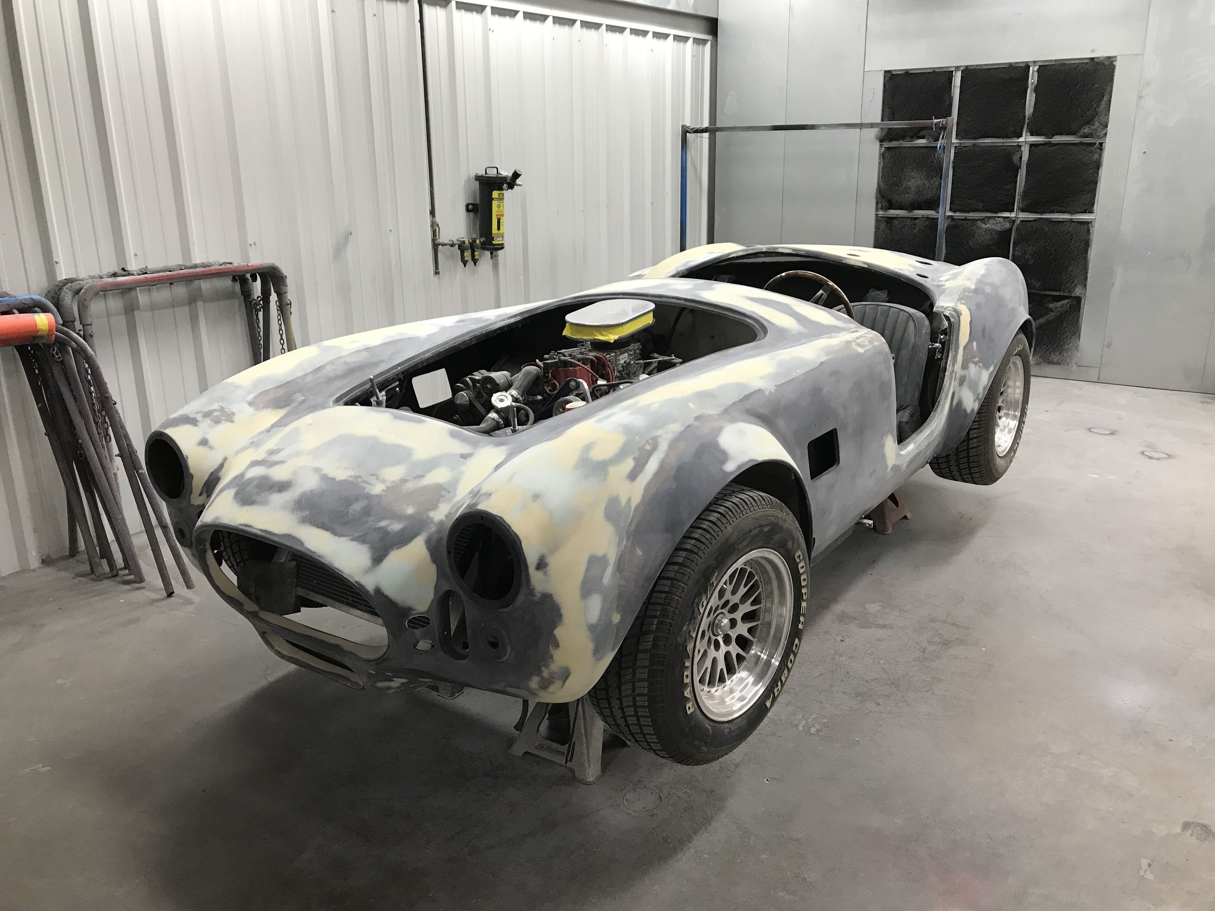 Look out There s a Cobra in the paint shop Quick put some primer