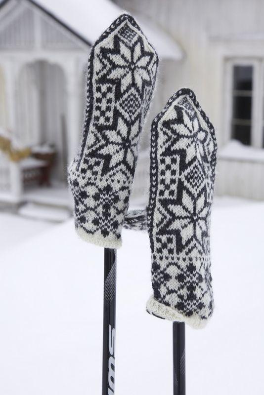 Altijd mooi die Noorse patronen.