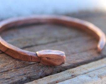 thin bracelets unisex bracelets Copper stacking bracelets