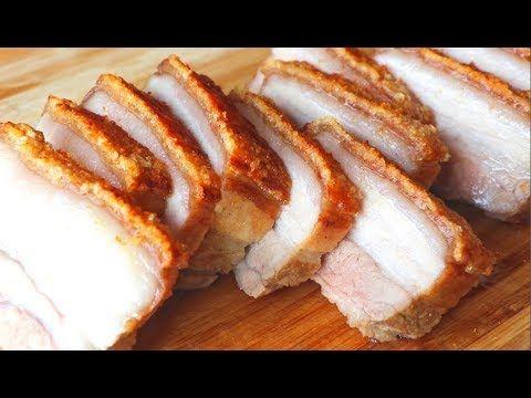 脆皮燒肉的家庭做法 美食天堂 Cici S Food Paradise Crispy Pork