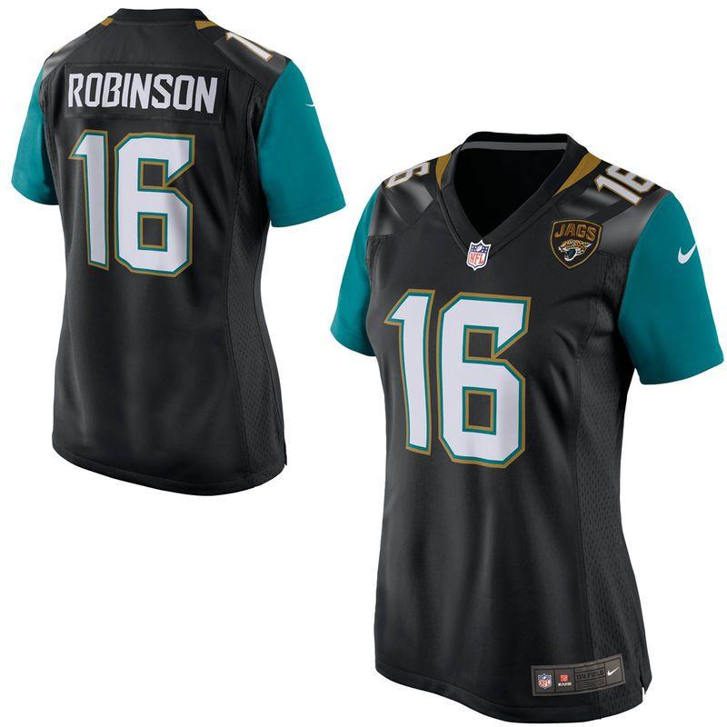 info for 8b8b2 c31cc Denard Robinson Jacksonville Jaguars Nike Women's Game ...