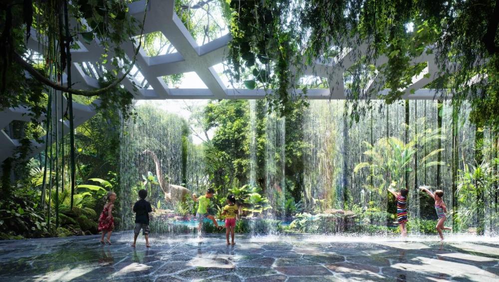 This New Hotel Will Have An Indoor Rain Forest #tropischelandschaftsgestaltung