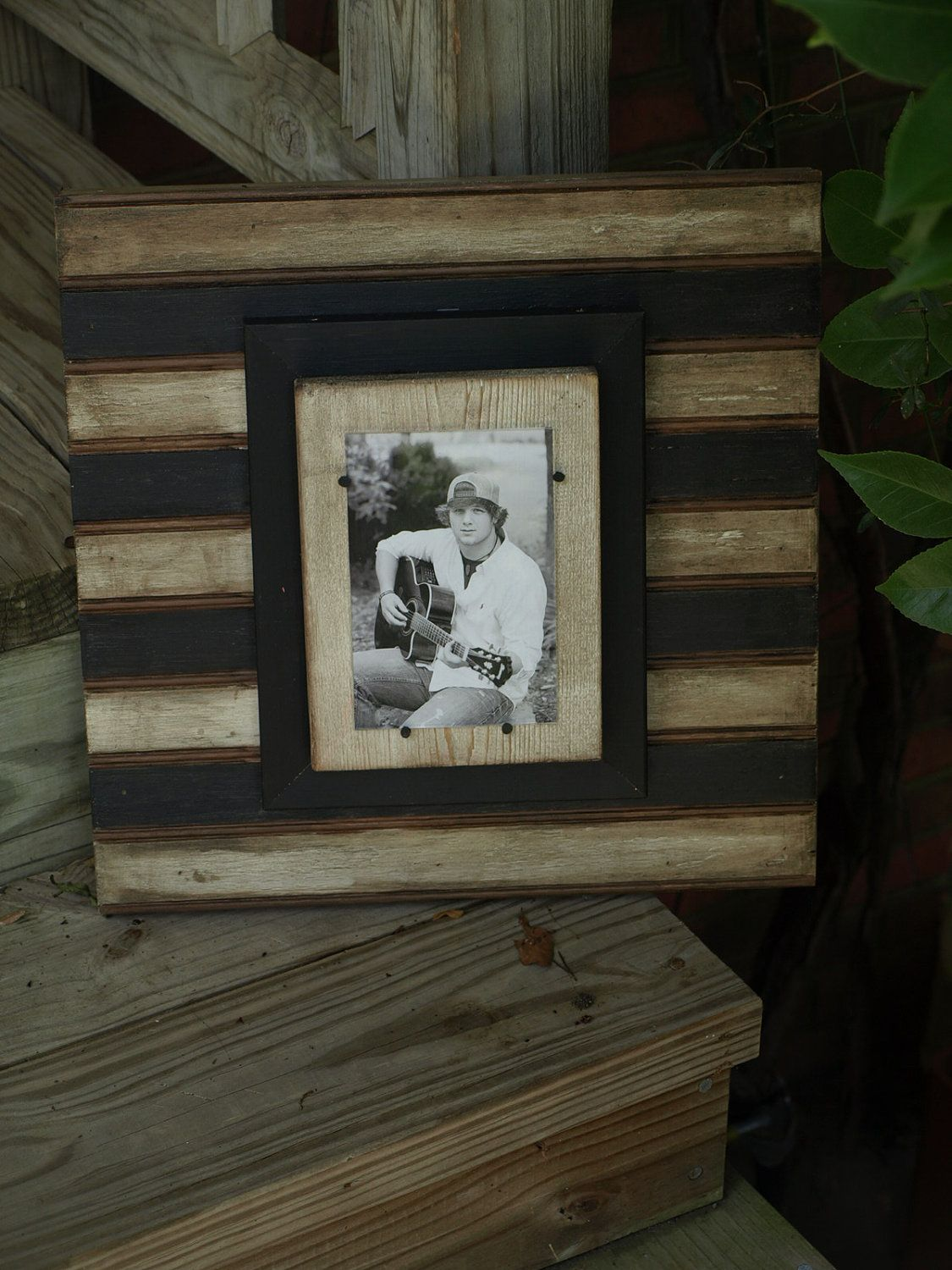 Beadboard frames. Great way to paint stripes or team colors ...