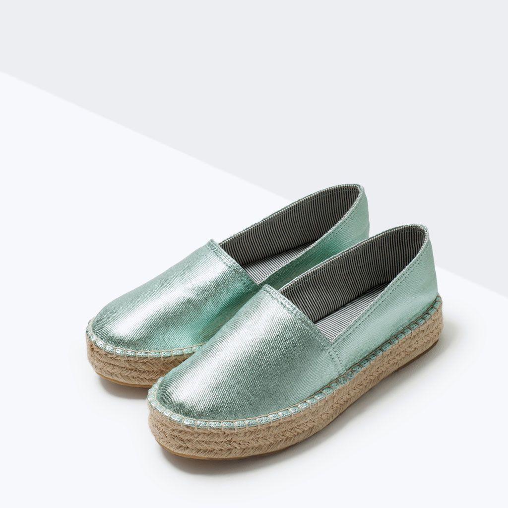 Zapatillas mujer  Zapatos  de pespuntes color turquesa pespuntes de Adorno Informales 21df61