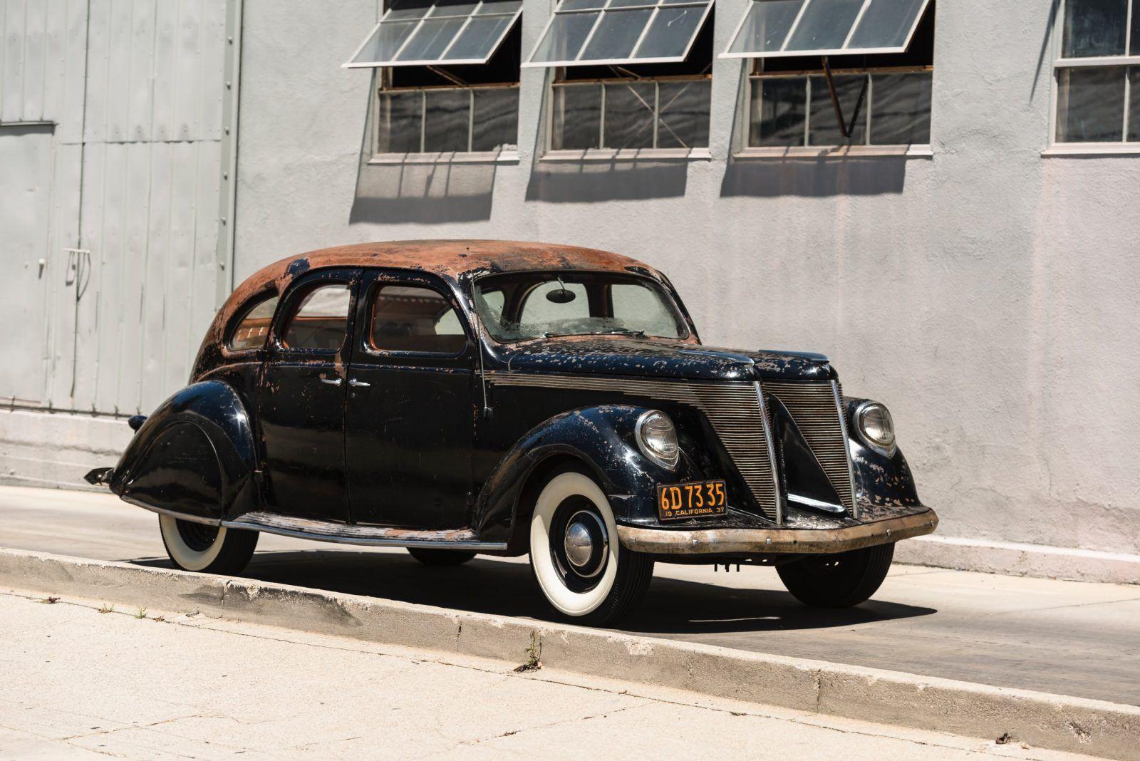 1936 Lincoln Zephyr V12 Twin Grille Lincoln Zephyr Old