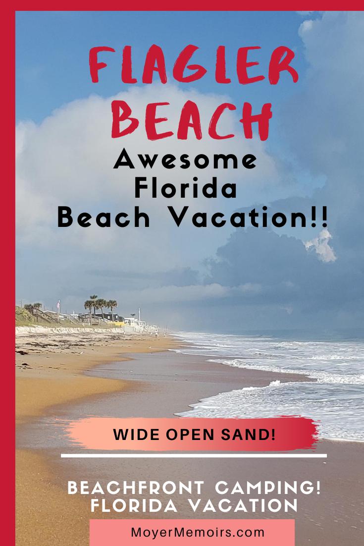 Flagler Beach Florida Beachfront More Relaxing Than Daytona In 2020 Florida Travel Florida Vacation Beach