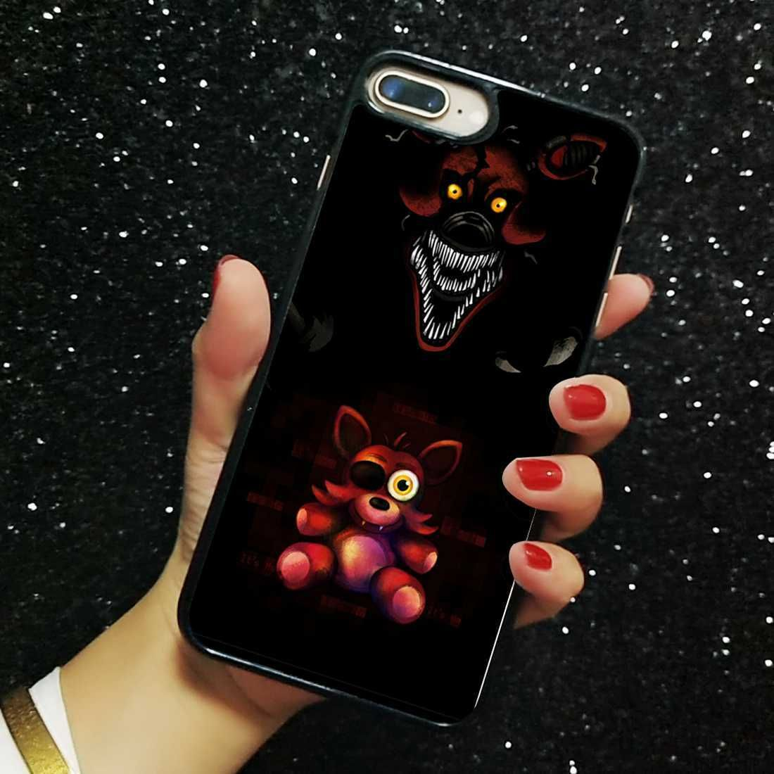 Five nights at freddys hard plastic case for iphone xs