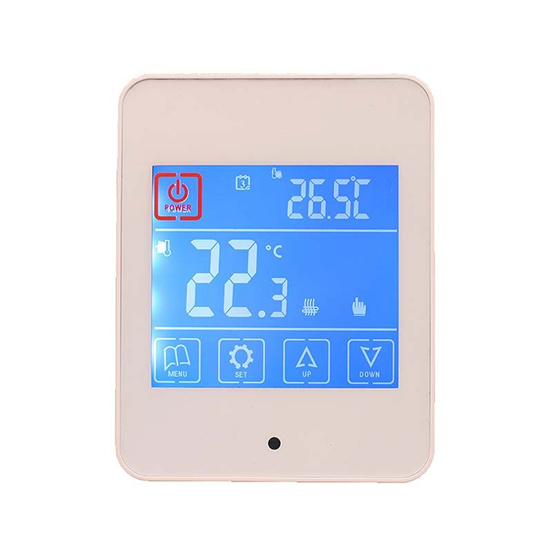 Touch Screen Thermostat Ac860h White Thermostat Energy Saving