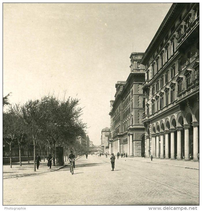 Traffico a piazza Vittorio (primo '900)