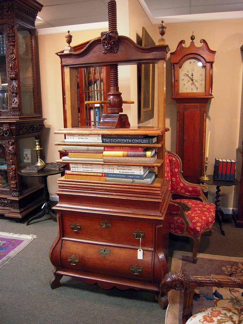 Charming Impressive 1880s Book Press | Olde Mobile Antiques Gallery U2013 Mobile, AL