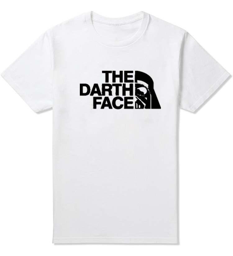 THE POWER OF THE DARK SIDE DAMEN GIRLIE SHIRT Darth Star Sith Force Vader Wars