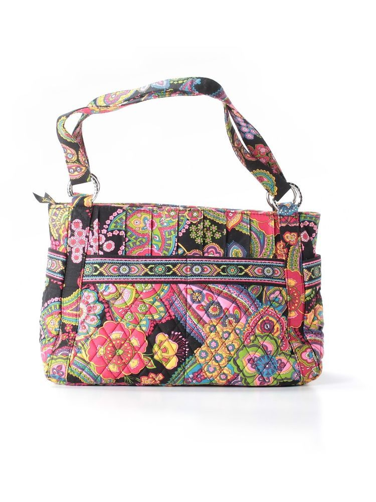 8709b28b3ba9 Vera Bradley Symphony In Hue Stephanie Purse Tote Shoulder Hand Bag LN   VeraBradley  ShoulderBag