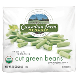 Cascadian Farm Organic | Products | Frozen Vegetables | Premium Bagged | Cut Green Beans
