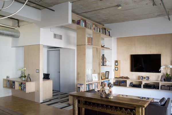 downtown la loft remodel - chinmaya apurva collaborative