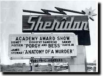 Sheridan Drive In Sign Drive In Movie Drive In Movie Theater Movie Marquee