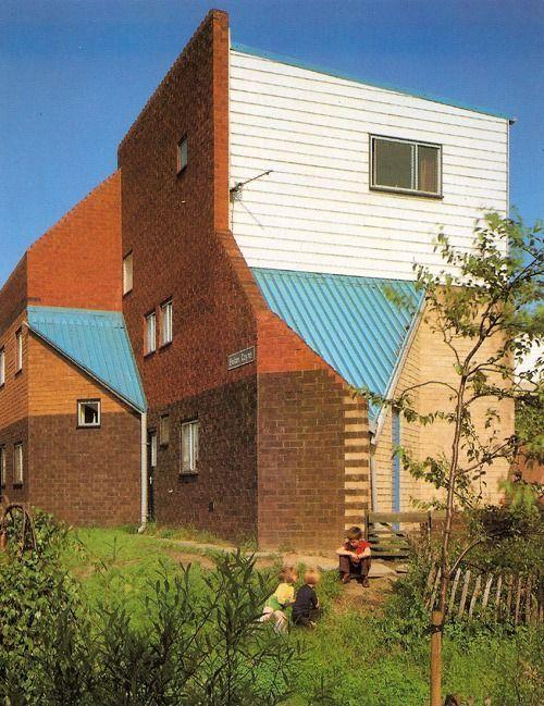 Ralph Erskine | Viviendas del barrio Byker Wall | New Castle, Reino Unido |  1960-1981 | Architecture, Architecture building, Architecture photography