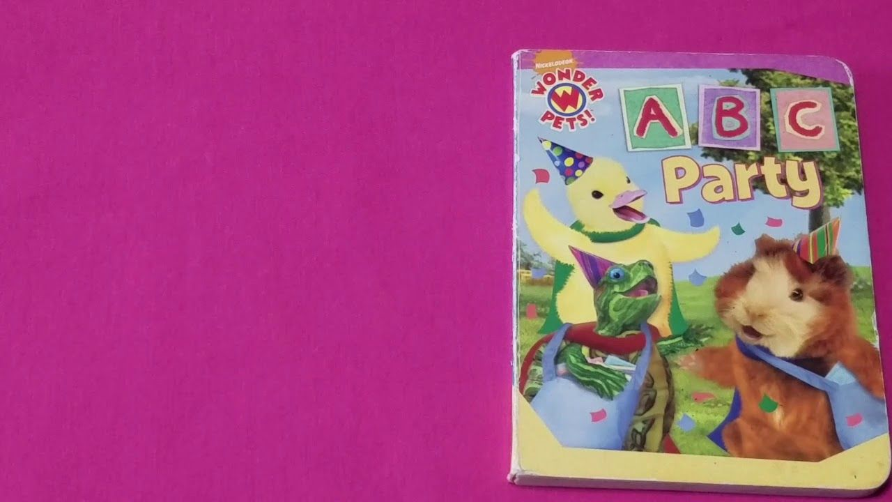 Read Along With Aunt Neny Wonder Pets Abc Party Wonder Pets Abc Party Abc