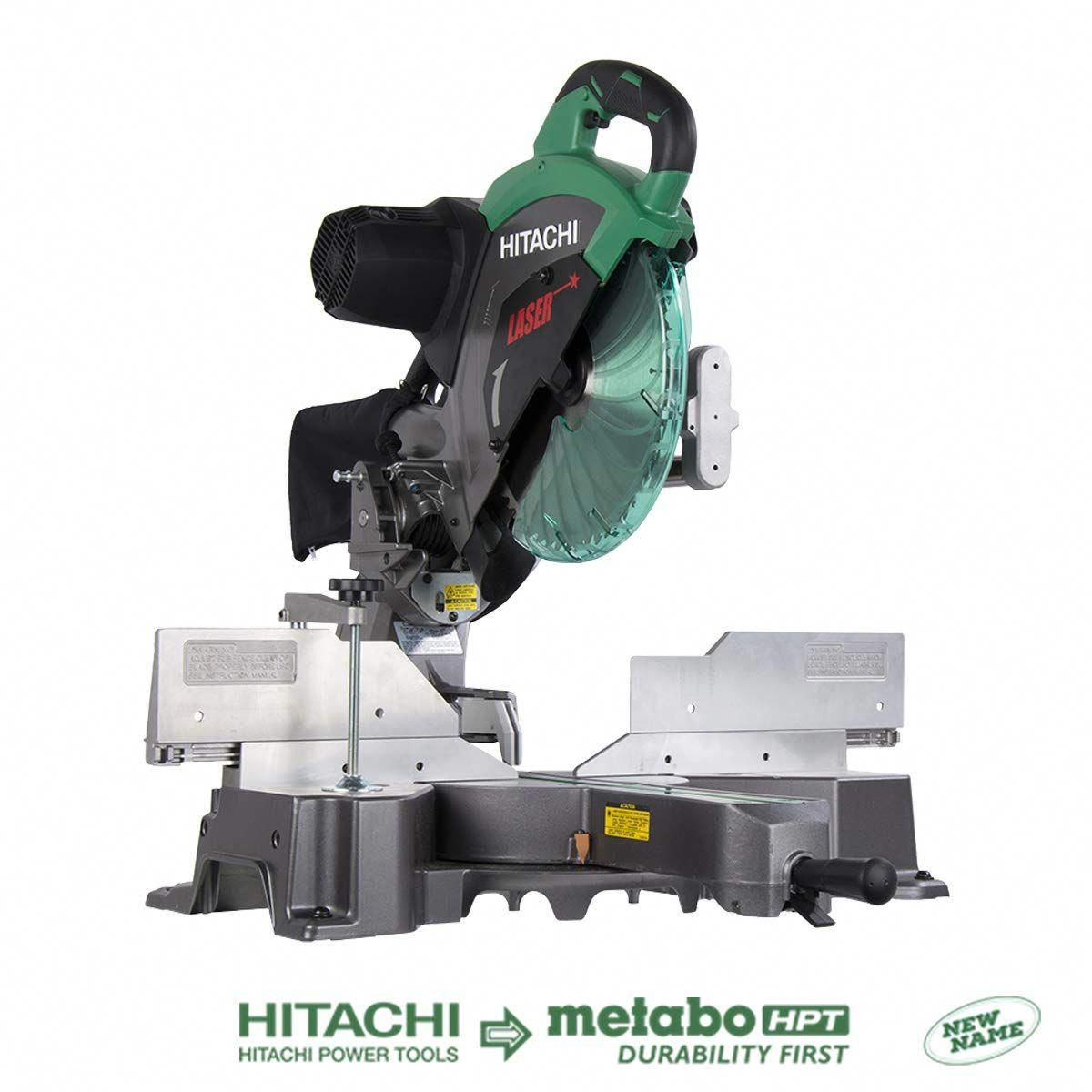 Setting Up Shop Hand Power Tools Sliding Compound Miter Saw Sliding Mitre Saw Hitachi Miter Saw