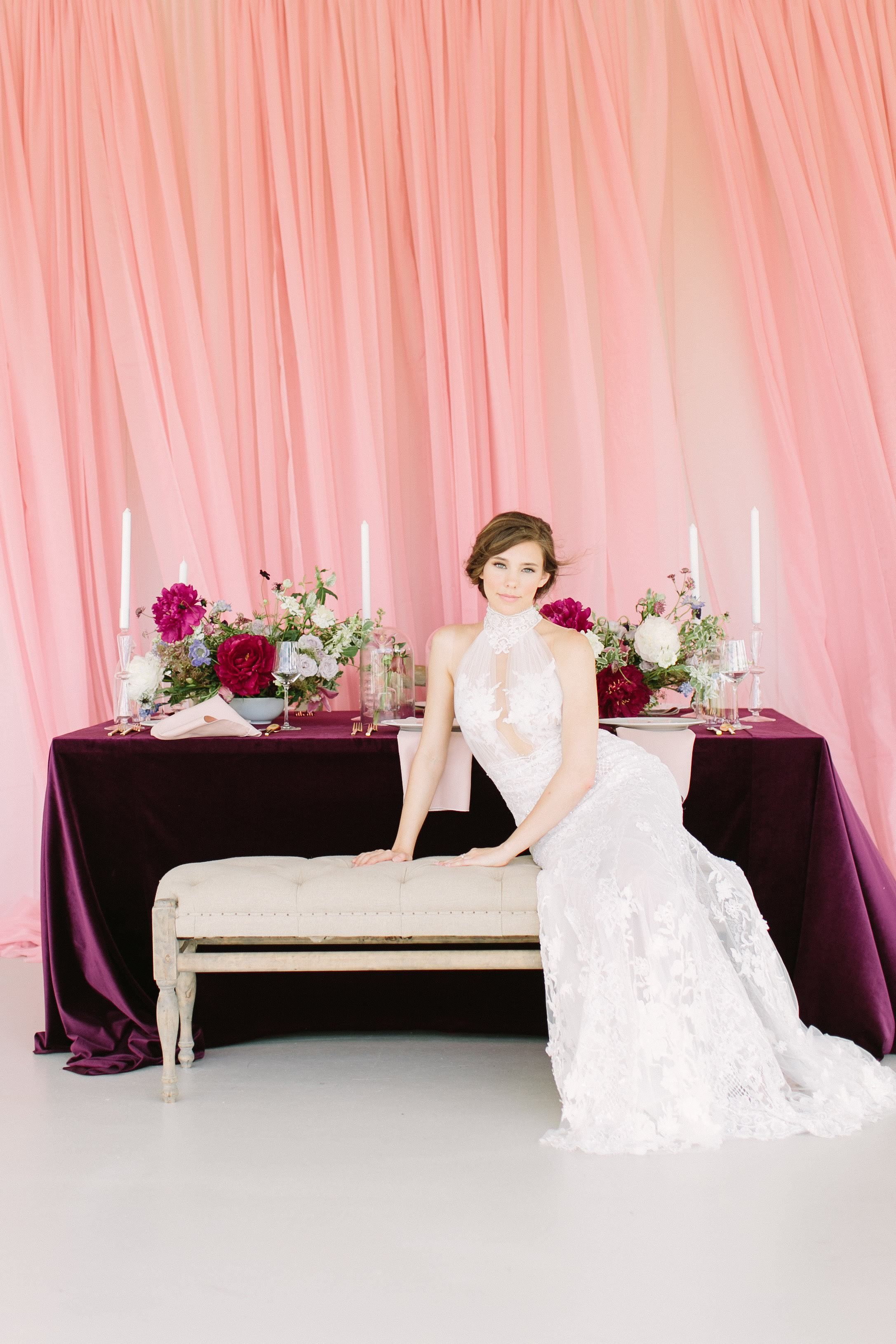 28+ Plum colored wedding dresses ideas