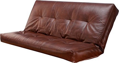 Leather 5000 Series Futon Mattresses Vertical 8 Inch Innerspring Full Size Saddle To View Further For This Item Visit The Image Link