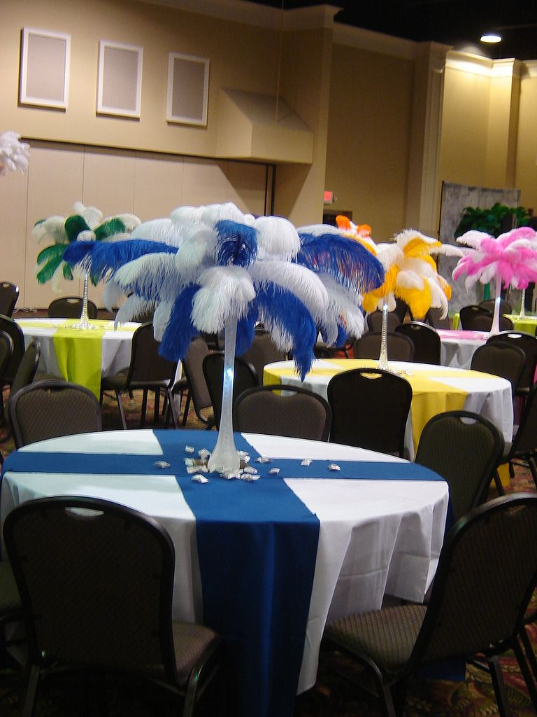 Banquet Table Decorations Banquet Table Decorations Sports