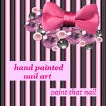 Nail art and tutorials! Follow at paintthatnail.com