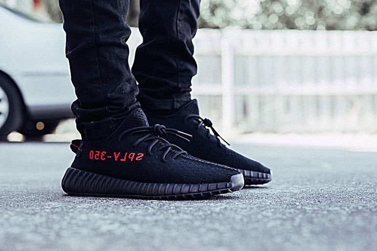 'BRED' Core Black & Red Yeezy Boost 350 V2 (CP9652)