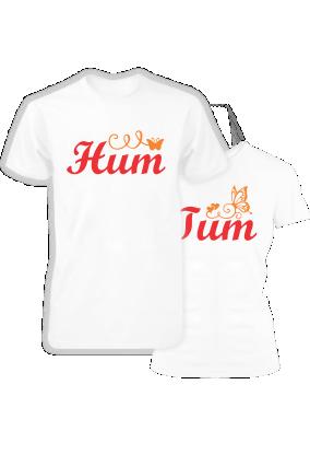 588e8267db2e90 Couple T shirt Hum Tum #HumTum #Coupletshirt #coupletshirtsonline  #couplegifts #customtshirts #