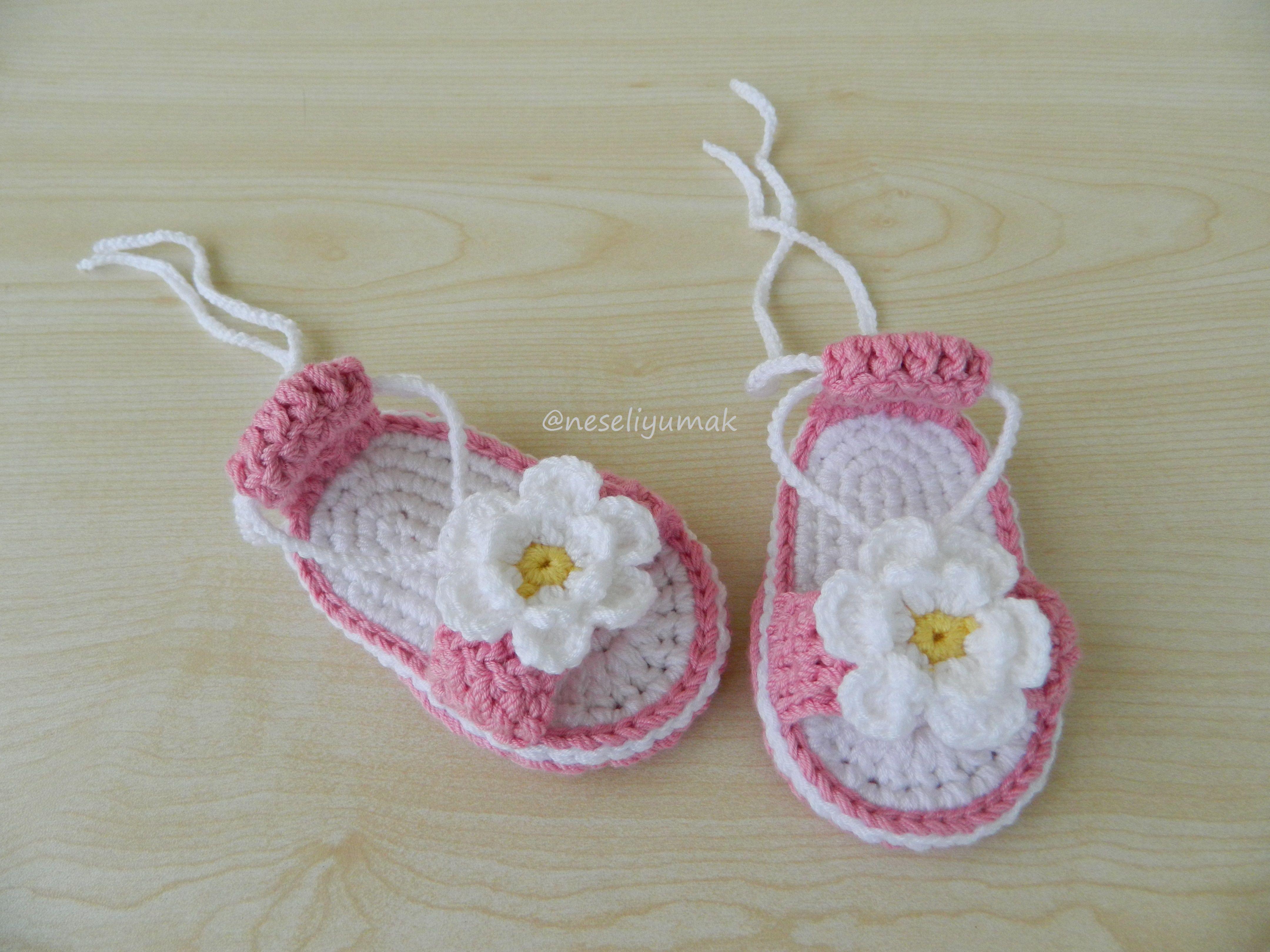 crochet #baby #booties | Crochet | Pinterest