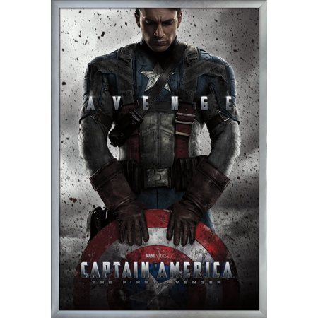 Captain America - One Sheet Size: 24.25 inch x 35.75 inch